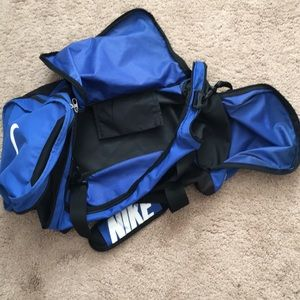 Nike duffel bag-Blue